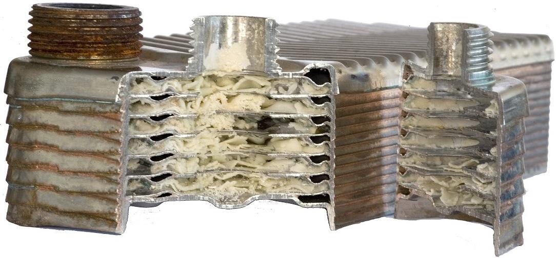 Как защитить теплообменник газового котла от загрязнения конструкция теплообменник пластинчатый рс-0, 2