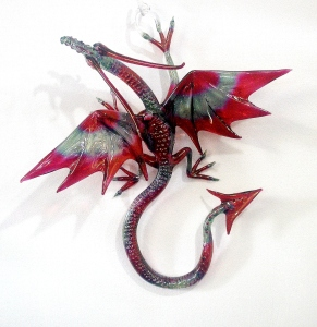 Red Blue Wall Dragon (3) (2)